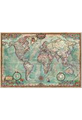Puzzle 4000 Le Monde, Carte Politique