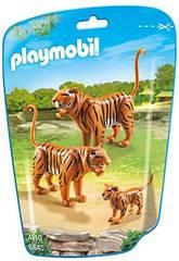 imagen Playmobil Familia de Tigres