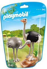 Playmobil Autruches et Nid