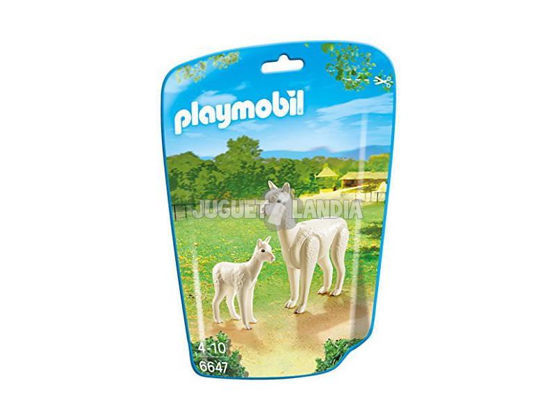 Playmobil Alpaca com Bebe