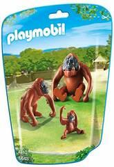 Playmobil Famiglia di Oranghi