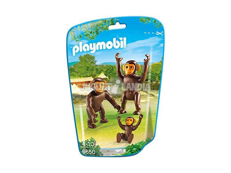 Playmobil Chimpancés