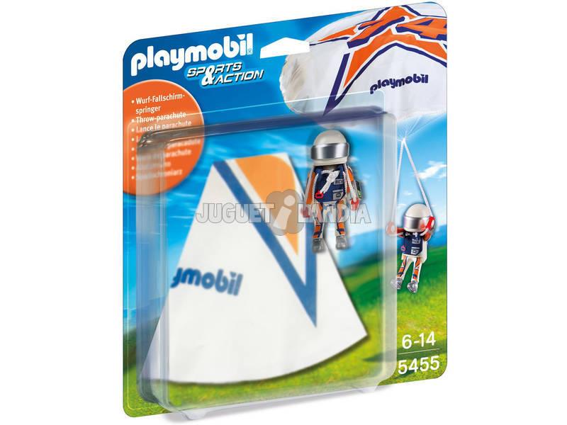 Playmobil Paracaidista Rick