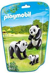 Playmobil Família dos Pandas