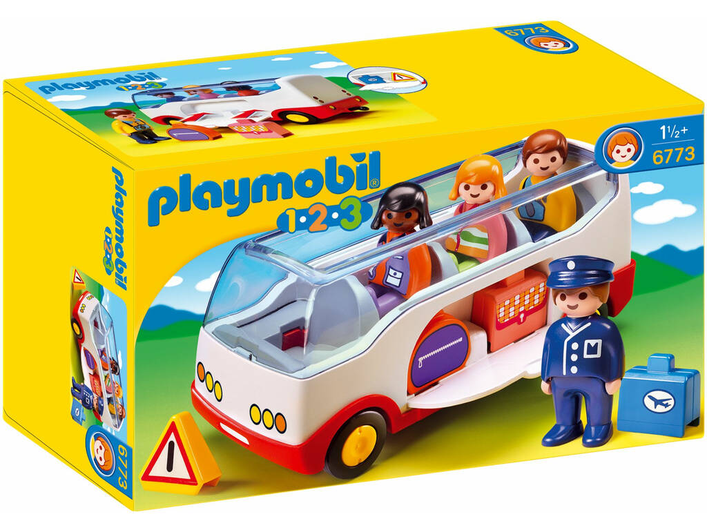 Playmobil 1.2.3 - Autobus