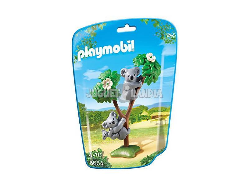 Família Playmobil de Koalas