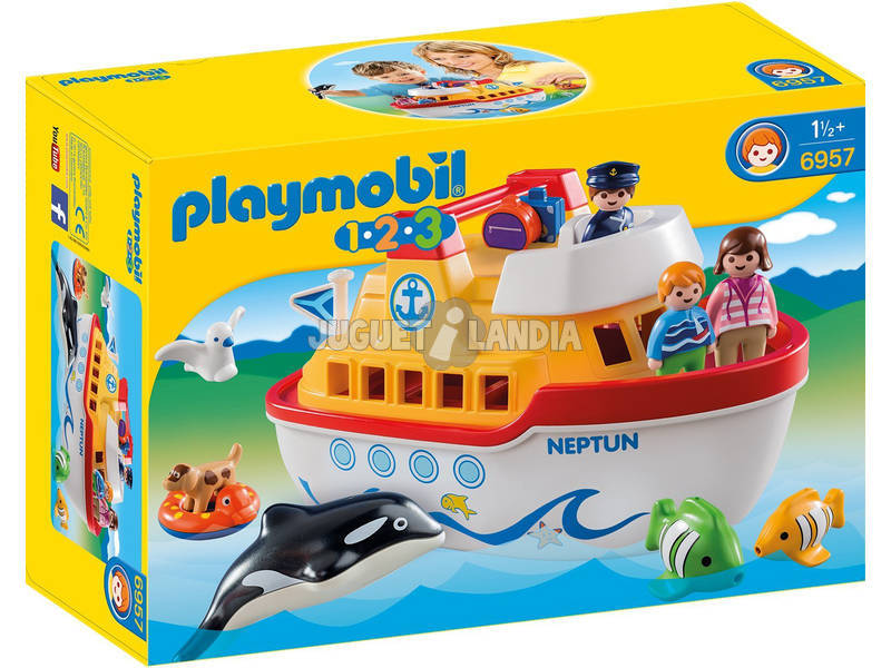 Playmobil 1,2,3 Boat Maletin