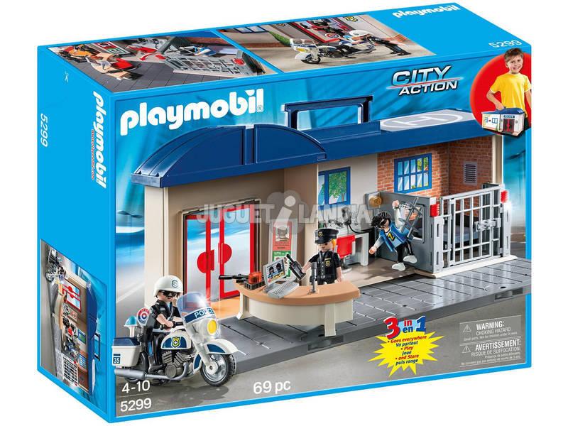 Playmobil Estación de Policía Maletín 5299