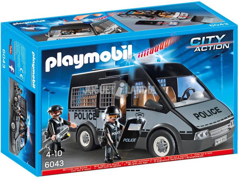 Playmobil Mezzo Blindato con Luci e Suoni