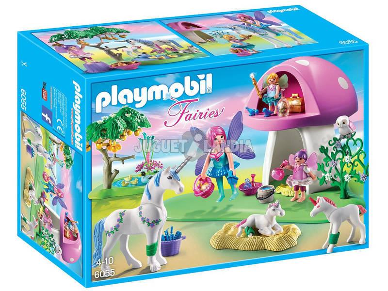 Playmobil Hadas con Seta