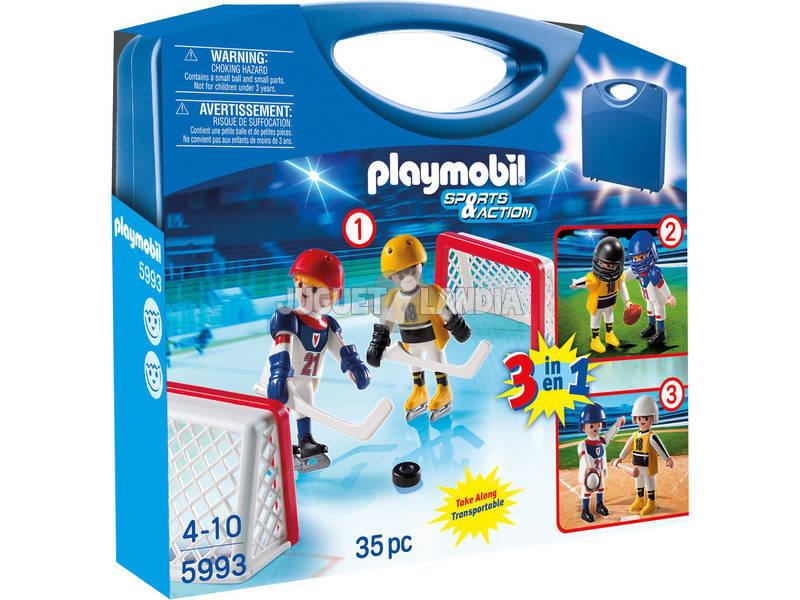 Playmobil valise sports