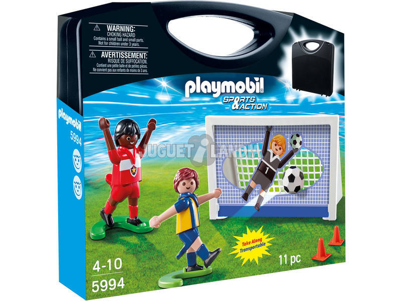 Playmobil maleta Futbol