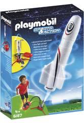 Playmobil Cohete con Propulsor
