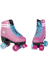 Patins 4 Roues Rose T38