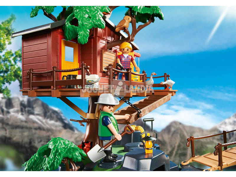 Playmobil casa del arbol de aventuras juguetilandia - Casa del arbol de aventuras playmobil ...
