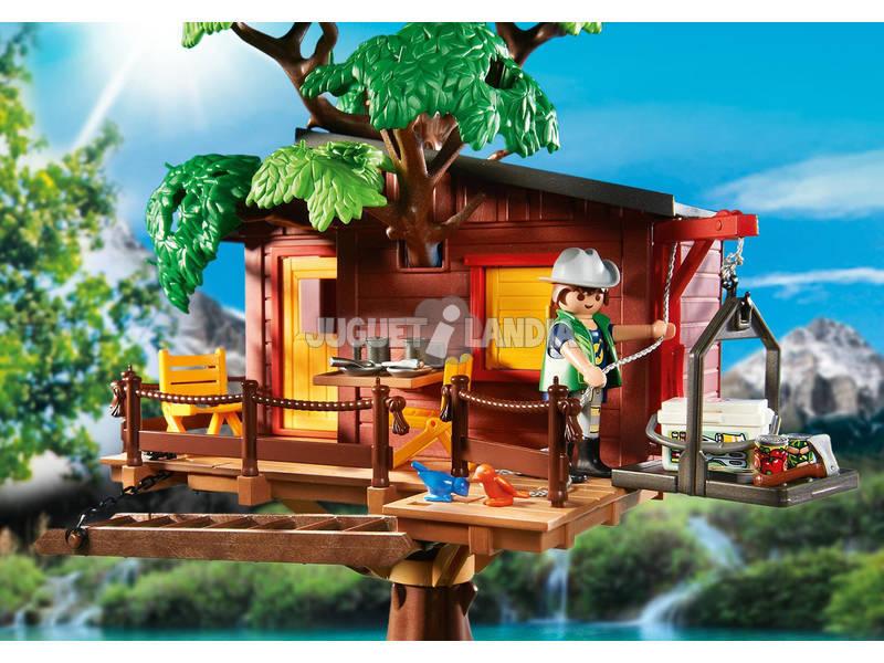 Playmobil casa del arbol de aventuras juguetilandia for Casa del arbol playmobil carrefour