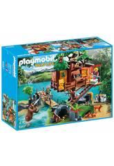 Playmobil Casa sull'Albero con Ponte Sospeso