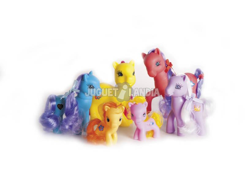 Familia de 6 Cavalos Pequenos