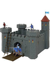 Castillo Medieval Con Catapulta