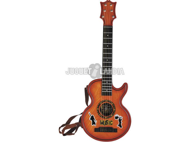 Instrumento Musical Guitarra Acústica Infantil 80x29x6cm