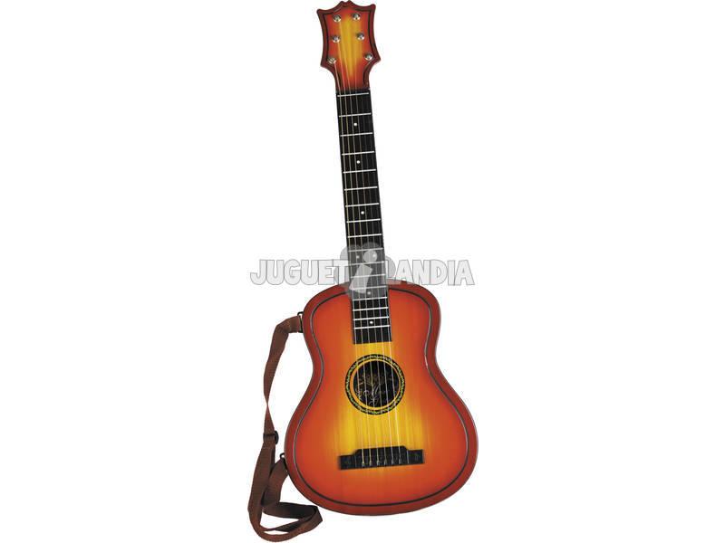 Instrumento Musical Guitarra Espanhola Infantil 80x30x7cm