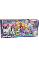 Familia De 10 Ponys