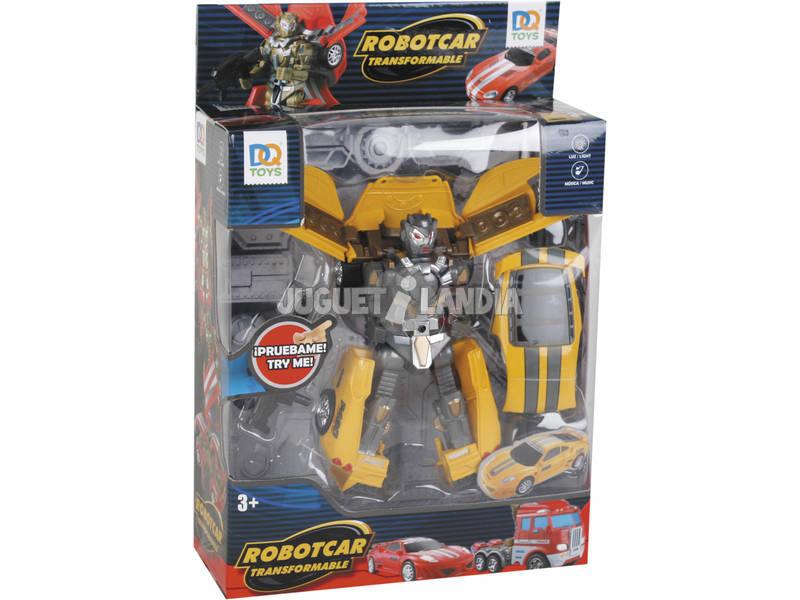 Coche Robot Convertible