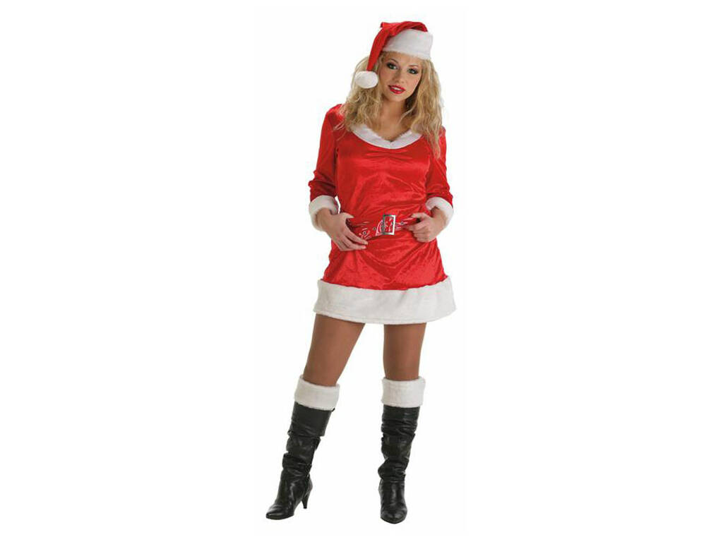 Disfraz Adulto Mamá Noel Llopis 9070