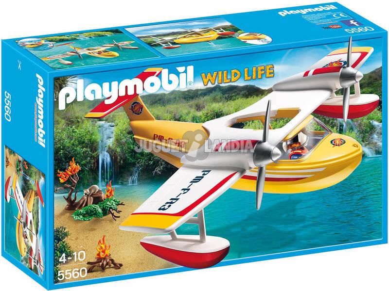 Playmobil Hidroavião de Extinção de Incéndios