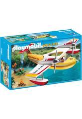 Playmobil Hidroavion de Extincion de Incendios