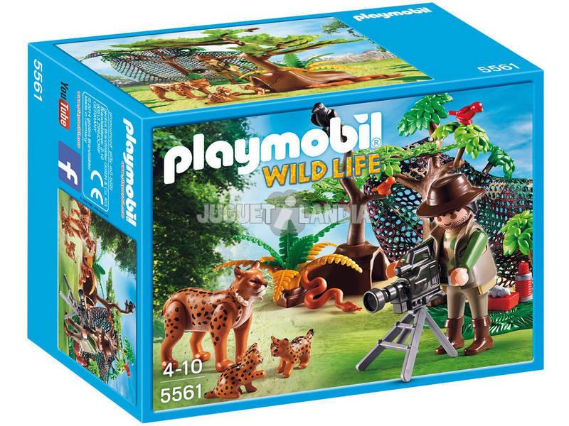 Playmobil Família de Linces com Cámera
