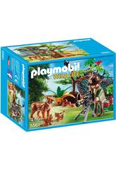 Playmobil Familia de Linces con Camara