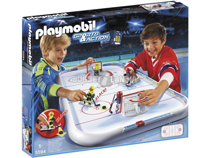 Playmobil Campo de Hockey sobre Gelo
