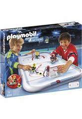 imagen Playmobil Campo de Hockey sobre Hielo