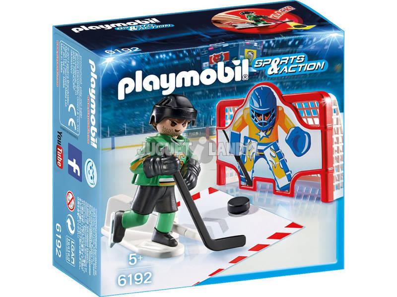 Playmobil Baliza Hockey sobre Gelo