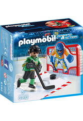 Playmobil But Hockey sur Glace