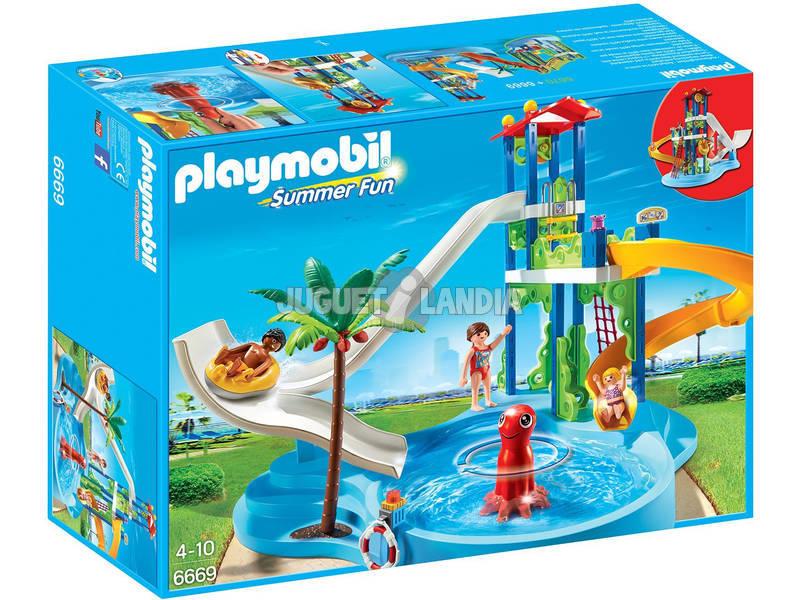 Playmobil Parco Acquatico con Scivoli