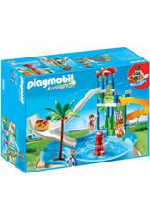 Playmobil Parque Acuático con Toboganes