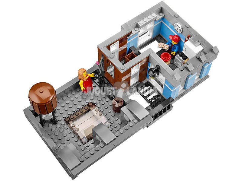 acheter lego creator export bureau du d tective 10246. Black Bedroom Furniture Sets. Home Design Ideas