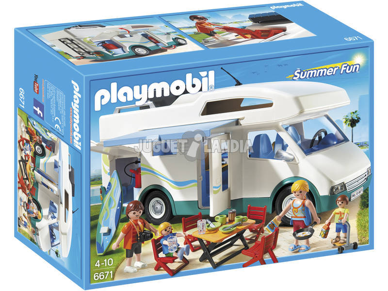 Playmobil Caravana de Verão 6671
