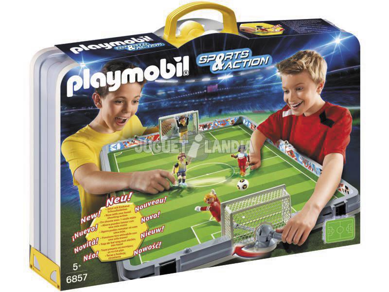 Playmobil Set de Futbol Maletín 6857