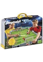 Playmobil Set de Futbol Maletín