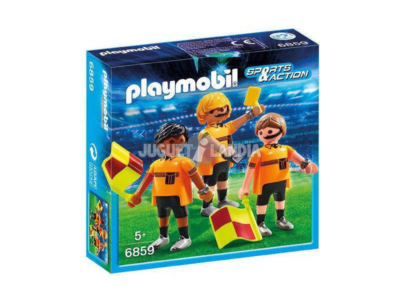 Playmobil Árbitros Fútbol