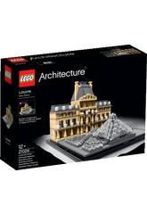 Lego Aquitectura Louvre