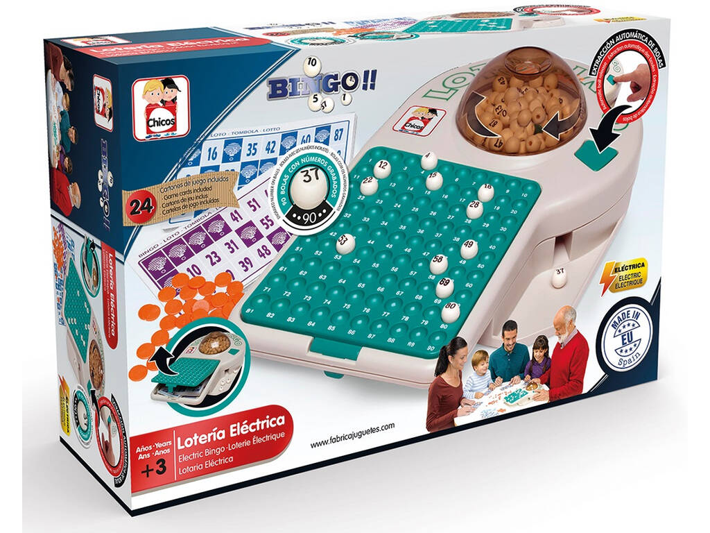 Bingo Elettrico Chicos 22302
