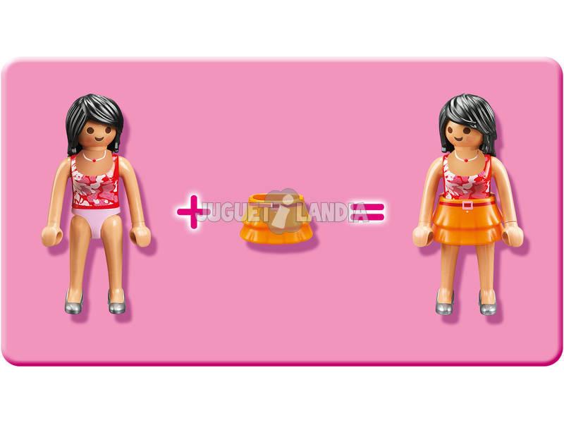 Playmobil casa de mu ecas rom ntica juguetilandia - Gran casa de munecas playmobil ...