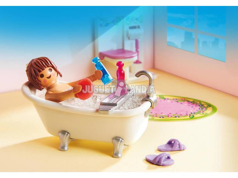 acheter playmobil salle de bains et baignoire juguetilandia. Black Bedroom Furniture Sets. Home Design Ideas