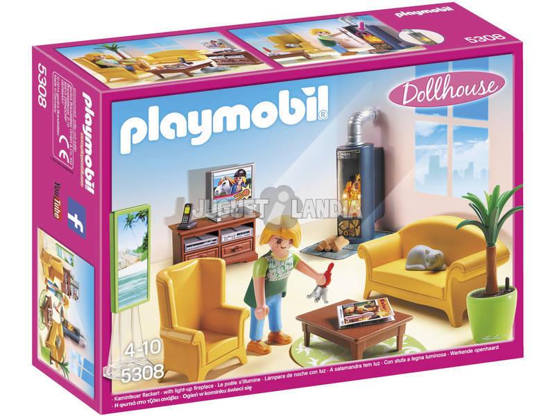 Playmobil Soggiorno con Stufa