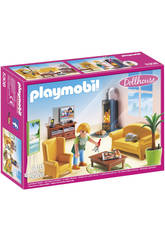 Playmobil Sala de Estar con Chimenea 5308