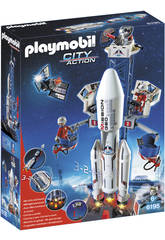 Playmobil Cohete con Plataforma de Lanzamiento